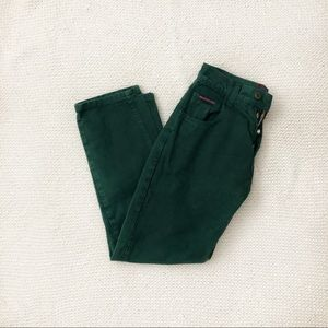 Vintage RW's Western South Beach Green Pants